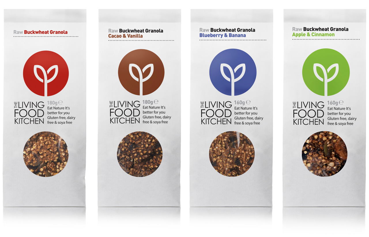 Studio H Our Work The Living Food Kitchen Brand